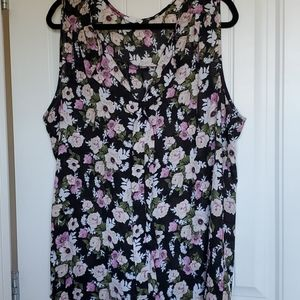 💗 3 for $30 Dressy floral tank top